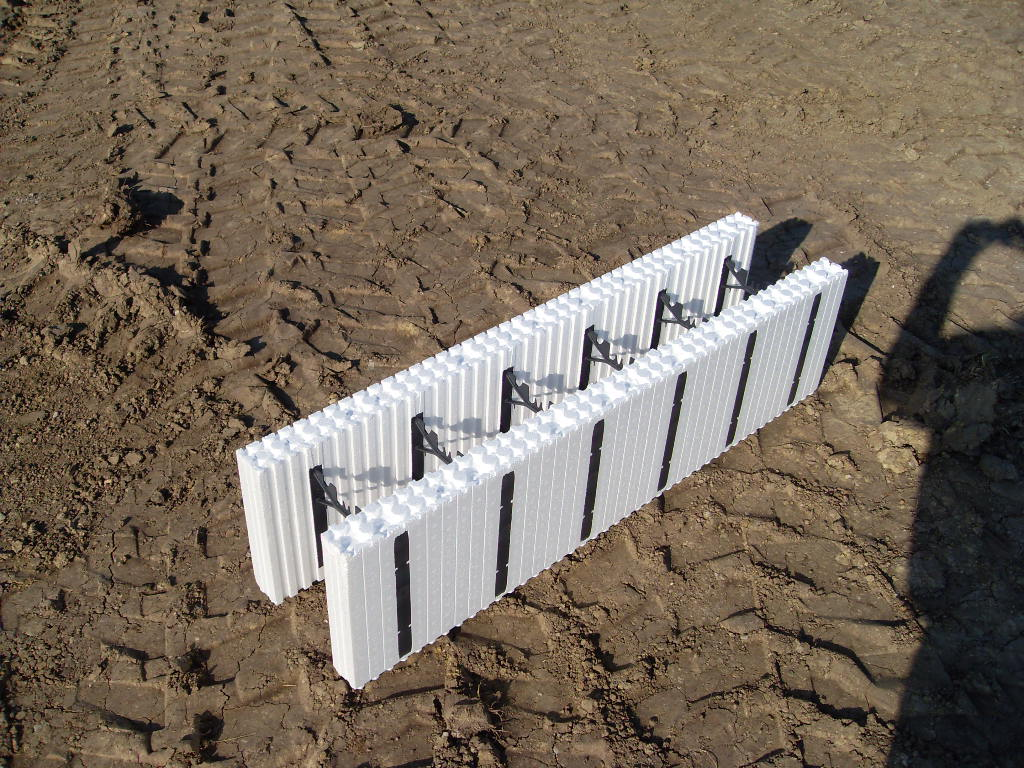Styrofoam cement blocks for Foam block foundation prices